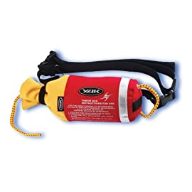 YAK 20M Kayak Throw line. Floating nylon line. Rip Stop Nylon ThowLine bag. Kayak and white water rafting safety recovery rope.