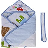 Mee Mee MM 98072C Baby Wrapper With Hood (Blue)