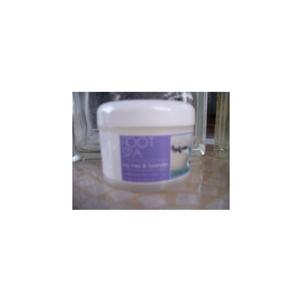 Foot Spa Tea Tree & Lavender Foot Cream 9 oz New