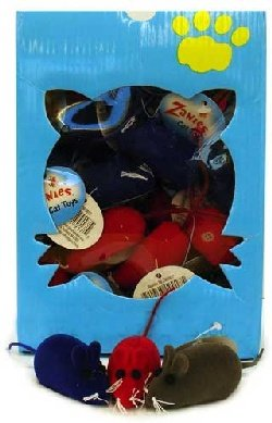 Zanies Assorted Cat Toy Mouse