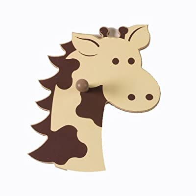 Giraffe Wall Pegs - Set of 2