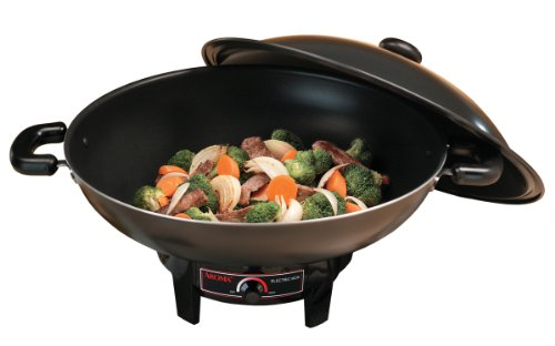 Review Of Aroma AEW-305 6.5-quart Electric Wok