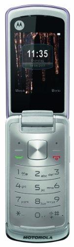 Motorola Gleam Handy (ohne Branding, 6,1 cm (2,4 Zoll) TFT-Display, 2 Megapixel Kamera) lila
