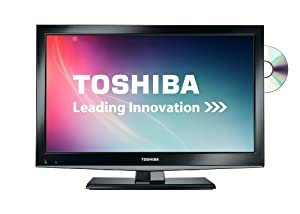 Toshiba 19DL502B 19-inch Widescreen HD Ready LED TV with Freeview and Built-in DVD Player - Black  (2012 model) (discontinued by manufacturer)