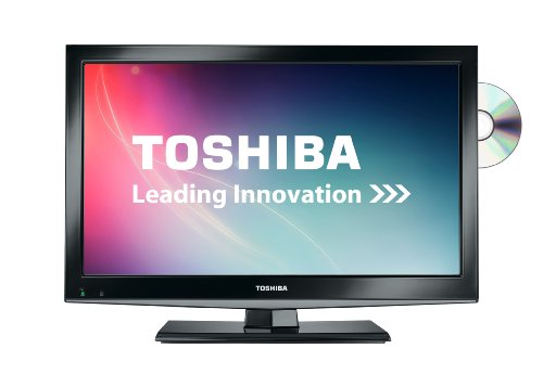 Toshiba 19DL502B 19-inch Widescreen HD Ready LED TV with Freeview and Built-in DVD Player - Black (New for 2013)