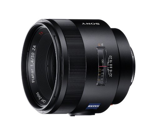 Sony Carl Zeiss Planar T 50mm f/1.4 ZA Lens