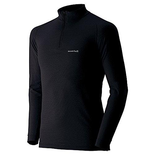(モンベル)mont-bell ジオラインEXP.ハイネックシャツ Men's 1107520 BK ブラック XL