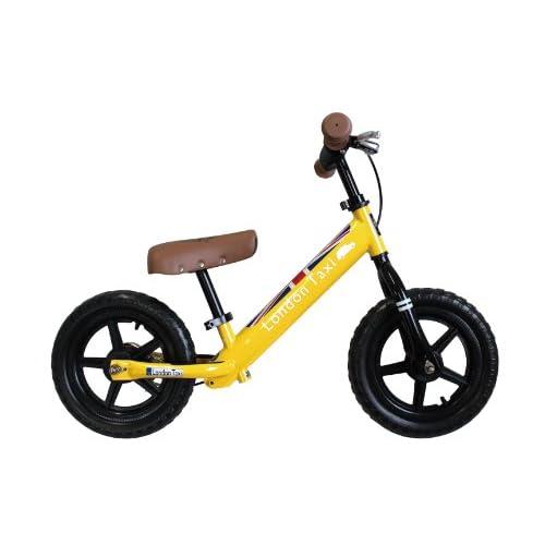 JEFFRYS (ジェフリース) London Taxi キックバイク 12型 足こぎ自転車 イエロー