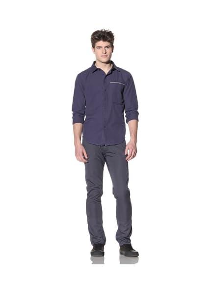 ZAK Men's Long Sleeve Woven Shirt