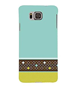 Multi Design Wallpaper 3D Hard Polycarbonate Designer Back Case Cover for Samsung Galaxy Alpha G850