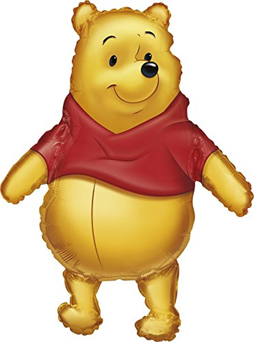 Anagram International 833501 Big As Life Pooh Shape Balloon Pack, 29""