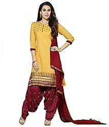 Shree Collection Designer Patiyala Cotton Salwar Suit