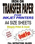 Inkjet Printable Iron On T Shirt & Fa...