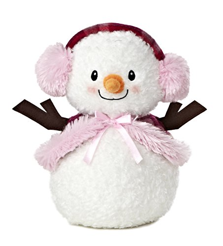 Aurora World Bundled Up Snowlady Plush, 10""