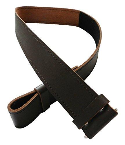 Scottish Brown Kilt Belt Smooth Finish Waist 48 - 56