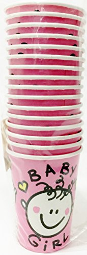 Special Girl Baby Shower - Hot/cold Cups (Pack of 16)