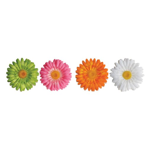 Roommates Acc0001F3D 3D Gerber Daisy Peel And Stick Wall Decals