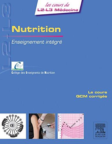 Nutrition: Enseignement intégré - UE Nutrition