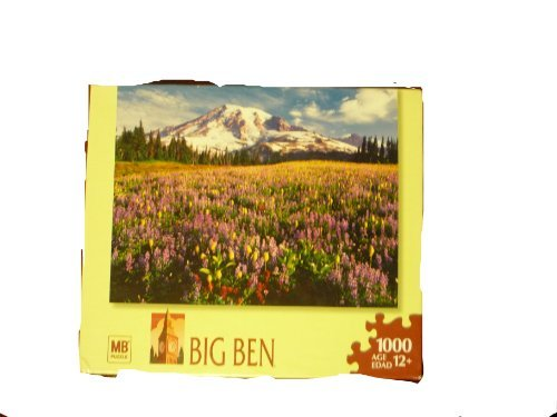 Mb Puzzle Big Ben Wildflowers, Mount Rainer Nationalpark, Wa