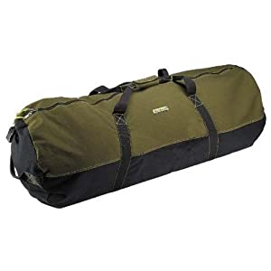 "Super Tough Heavyweight Cotton Canvas Duffle Bag - Size Medium 24"" x 16"""