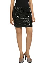 Fbbic Women's Skirt (16152_Large_Black)
