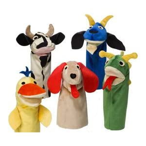 Why are Hand Puppets Good for Children?