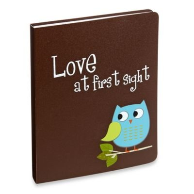 Love At First Sight Owl Baby Photo Album Brag Book - 1