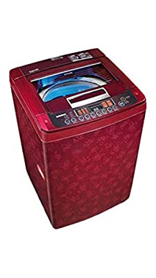 LG T7567TEEL3 Fully-automatic Top-loading Washing Machine (6.5 Kg,Dark Red)