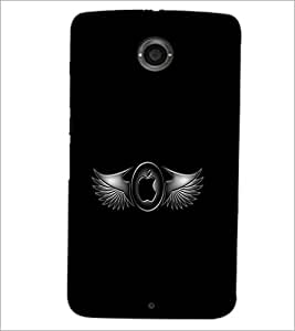 PrintDhaba Apple and Feather D-2219 Back Case Cover for MOTOROLA GOOGLE NEXUS 6 (Multi-Coloured)