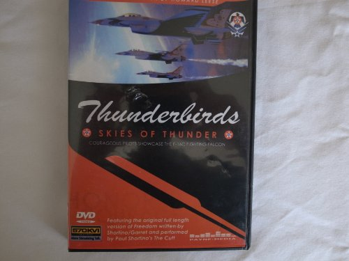 Thunderbirds - Skies of Thunder (Courageous Pilots Showcase the F-16c Fighting Falcon) DVD
