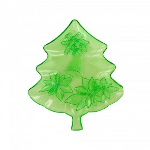 Kole Imports SA411 Decorative Christmas Tree Tray