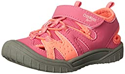 OshKosh B\'Gosh Hava-G Athletic Sandal (Toddler/Little Kid), Pink, 8 M US Toddler