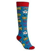 Burton Women's Party Socks, Emoji, Medium/Large