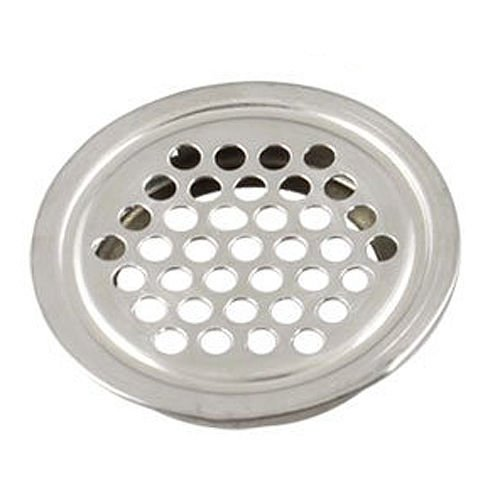 Alicenter(TM) 10 Pcs 43mm Diameter Hardware Stainless Steel Round Air Vent Louver T1 (Louvers Hardware compare prices)
