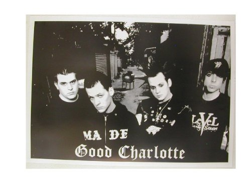 Good Charlotte Poster Black and White Band Shot (Good Charlotte Poster compare prices)