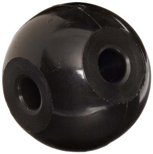 Molecular Models Black Plastic Tetrahedral Carbon Atom Center, 23mm Diameter (Pack of 10)