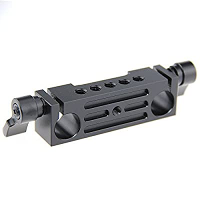Rod Clamp 15mm Railblock fr DSLR 15mm Rail Rig Rod Support System