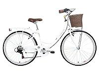 Kingston Women's Dalston Hybrid Bike - Gloss White, 16-Inch by Kingston