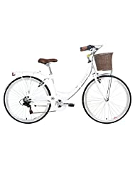 Kingston Women's Dalston Hybrid Bike - Gloss White, 19-Inch