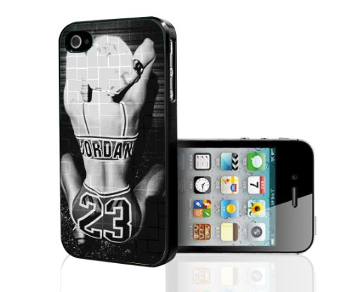 Black and White Hard Snap on Phone Case of Miley Cyrus Twerking (iPhone 5/ 5s)