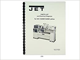 jet lathe wiring diagram lathe wiring diagram jet gh-1340w/1440w lathe parts list & electrical diagrams ...