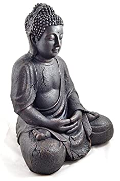 1 bouddha statue tr s tr s grande 41 5cm jardin pour. Black Bedroom Furniture Sets. Home Design Ideas
