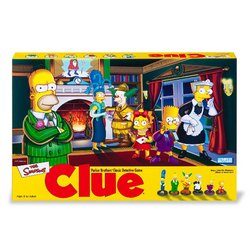 Clue Game - The Simpsons Edition - Buy Clue Game - The Simpsons Edition - Purchase Clue Game - The Simpsons Edition (Milton Bradley, Toys & Games,Categories,Games,Board Games)