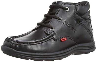 Kickers Boys Reasan Y Boots 112825 Black 3 UK, 36 EU
