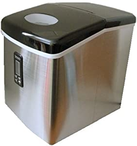 Smart+ Products SPP15AIM Portable Stainless Steel Ice Maker by Smart Surplus Inc.