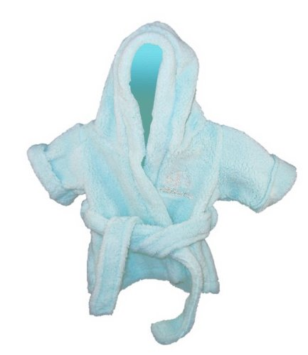 "Blue Bathrobe Outfit Fits 14"" - 18"" Stuffed Animals - 1"