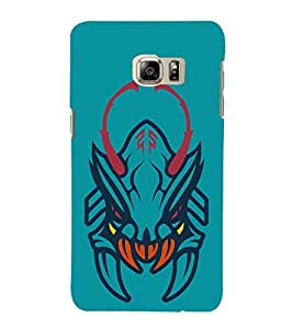 99Sublimation Devil with teeth 3D Hard Polycarbonate Back Case Cover for Samsung Galaxy Note5 :: N920G :: N920T N920A N920I