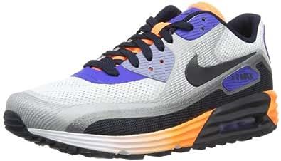 Nike Air Max 90 Lunar C3.0 631744-104 Herren niedrig Weiß-Schwarz-Lila-Orange 41