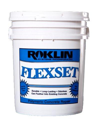 FlexSet Rapid Concrete Repair 5-Gal Kit