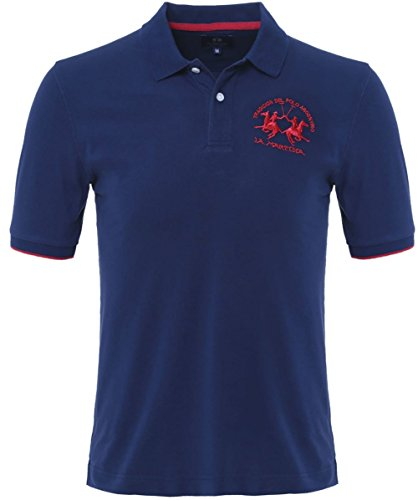 la-martina-plain-polo-shirt-navy-l